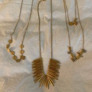 Trio of Madewell necklaces